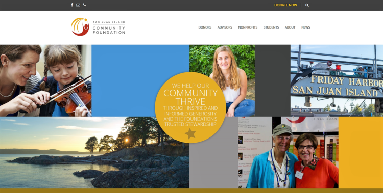 SJICF Launches New Website, Elects Board Chair – San Juan Island